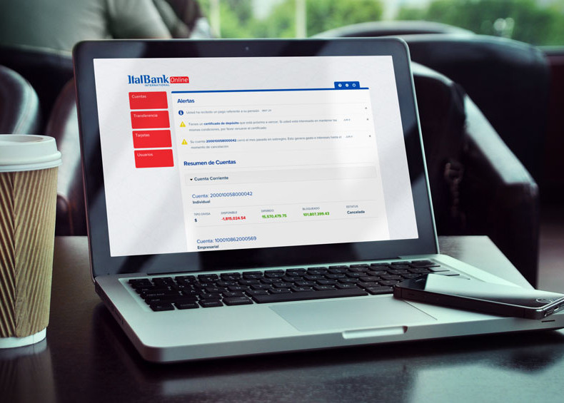 italbank-online-dashboard